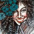 SMILE no. 4 · 100X80 cm · acrylic on canvas