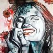 SMILE · NICE DAY · 120X90 cm · acrylic on canvas